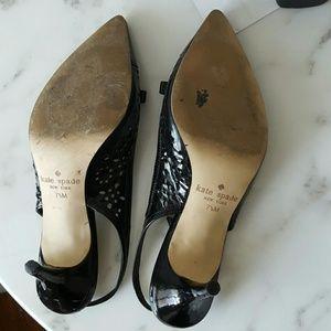 kate spade Shoes - Black Patent Kate Spade Shoes